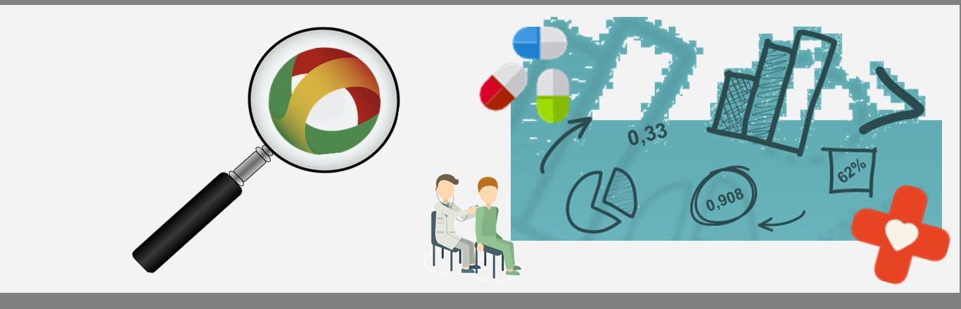 Página com diferentes ícones, que simboliza a monitorização do SNS