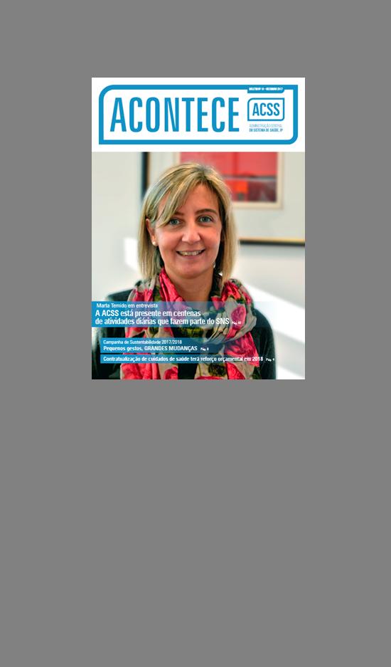 imagem do post do ACONTECE | Marta Temido em entrevista