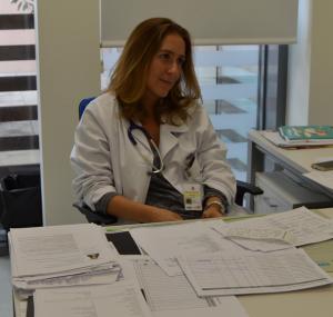 Sofia Varela Responsável pelas urgencias do HFF