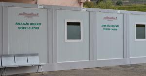 Sala de espera para doentes menos urgentes