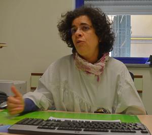 Ana Paula Tavares, responsável pela unidade no Hospital Curry Cabral