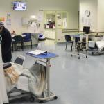 Sala de cirurgia de ambulatório no Hospital Curry Cabral