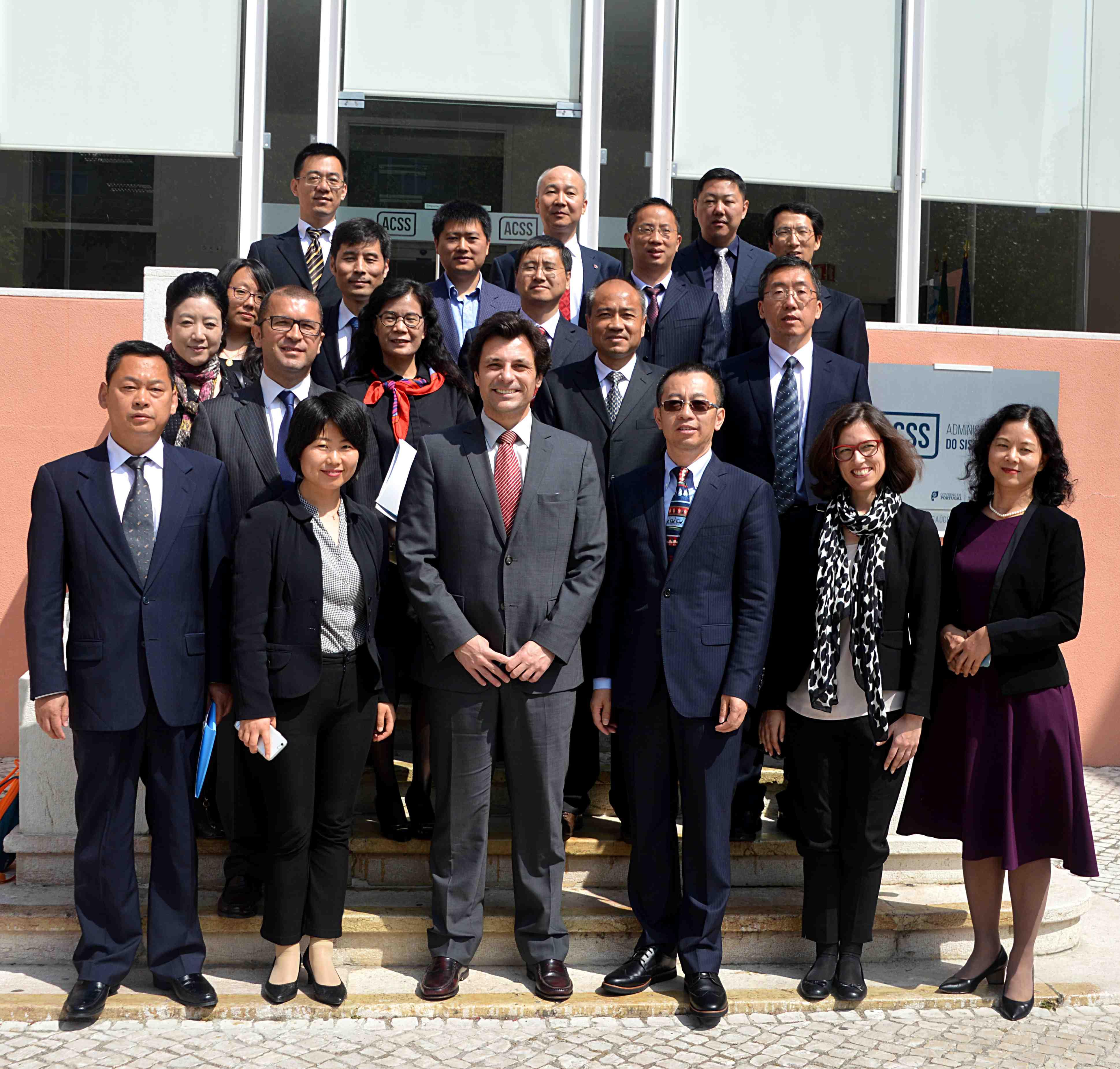 imagem do post do Orgão Regulador Chinês de seguros visita a ACSS