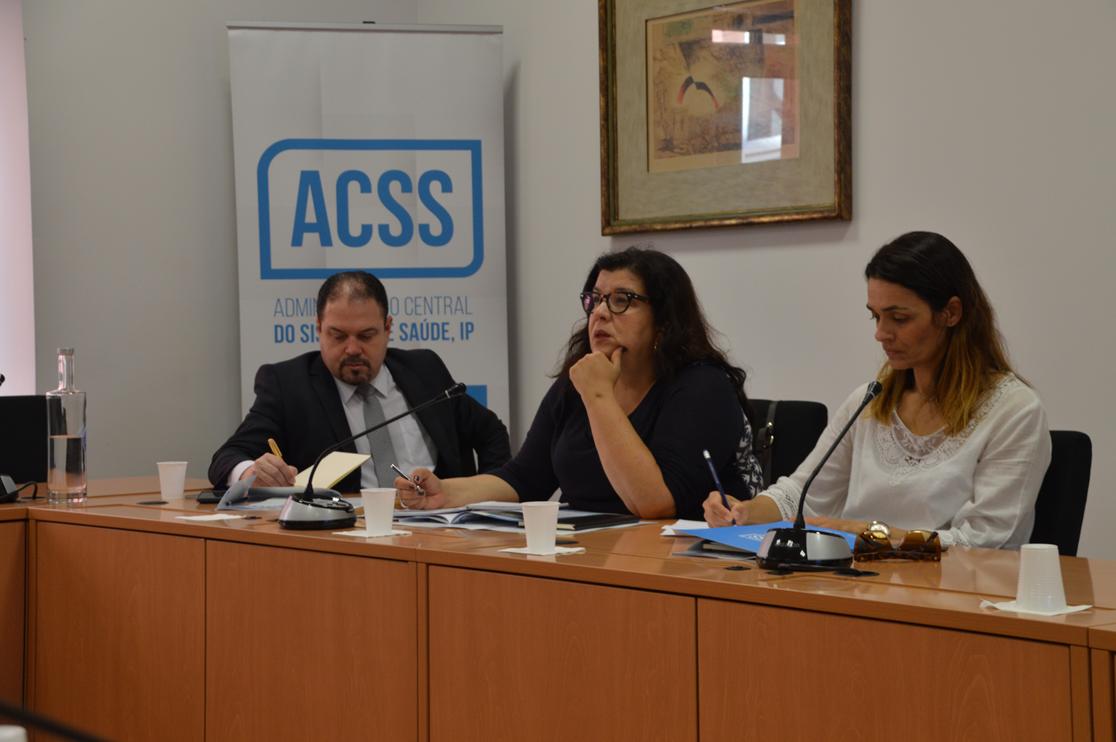 imagem do post do Secretaria de Atenção à Saúde do Brasil de visita à ACSS