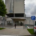 Entrada das urgências no Hospital de Torres Novas