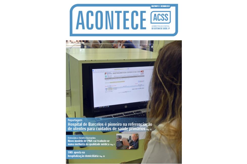 imagem do post do Boletim ACONTECE | Dezembro 2018