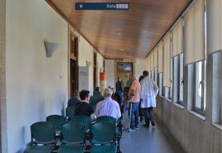 Sala de espera de hospital