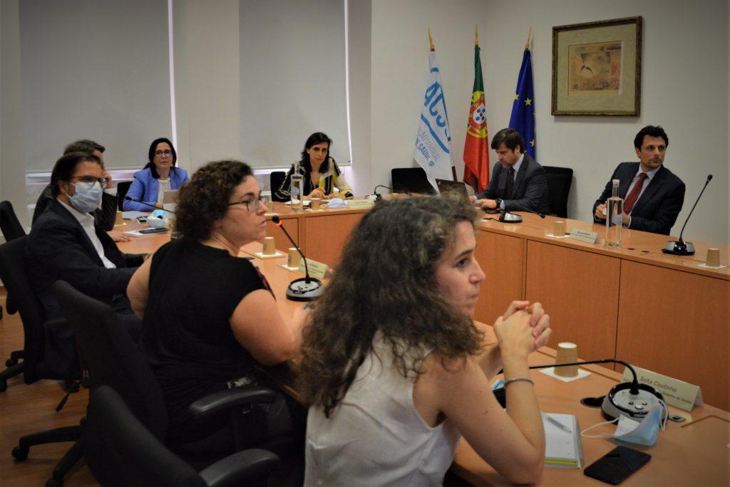 Reunião de trabalho com a SEAS